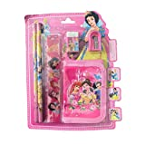 #6: RIANZ Cartoon Character 5 In 1 Stationary Set Birthday Return Gift For Kids (Princess)