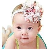 Culater® Fascia Del Fiore Del Hairband Ragazza Merletto Dei Capelli Infantile Accessori Per Neonati Tessere