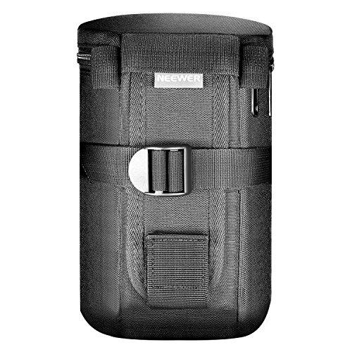 Neewer NW L2040 Tasca Custodia Borsa per Obiettivo Cilindrica Nero Imobottita Impermeabile per Obiettivo 18 300 come Canon 100 70 300lS 75 300 Nikon