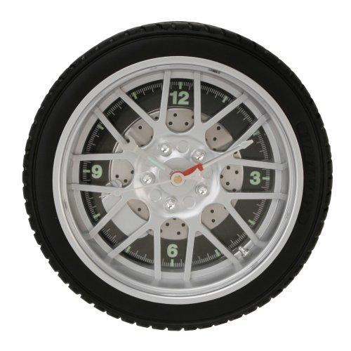 Orologio Orologio lega sportiva nella progettazione di pneumatici auto , 8 raggi , 25,4 centimetri