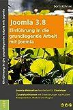 Einführung in die grundlegende Arbeit mit Joomla! 3.8