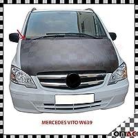AUTO-BRA AB-00275 Vollbra Bonnet BRA f/ür die ganze Motorhaube des Vito Viano W639 2003-2014 Haubenbra Steinschlagschutz Tuning Bonnet Bra