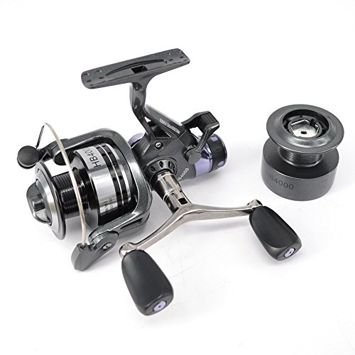Hirisi Tackle Carp Fishing Reel Spinning Free Runner HB4000 with Free Extra Spool