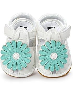 Hongfei Sandalias de verano de las muchachas del bebé Zapatos Suela de goma suave antideslizante para bebés, niños...