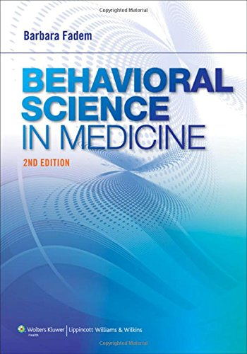 Behavioral Science In Medicine - 2ª Edition por Barbara Fadem