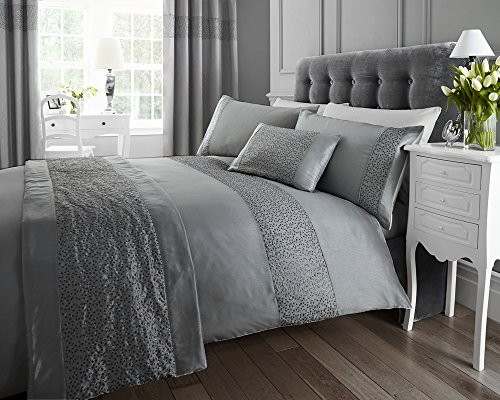 accessories-grey-faux-silk-with-a-silver-sequin-finish-1x-cushion-1x-bed-runner