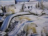 Si prega di notare la stampa sul copripiumino e federe può essere leggermente differente rispetto all' immagine mostra come il tessuto proviene da un rotolo si può modificare la posizione del modello Tovaglietta. Immagini a solo scopo illustrativo i ...
