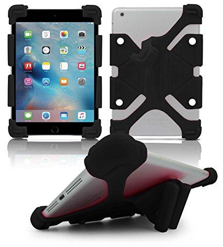 Tablet-gel-fall 7in (Universal Gel Gummi Silikon Stand stoßfest Case Cover für 7