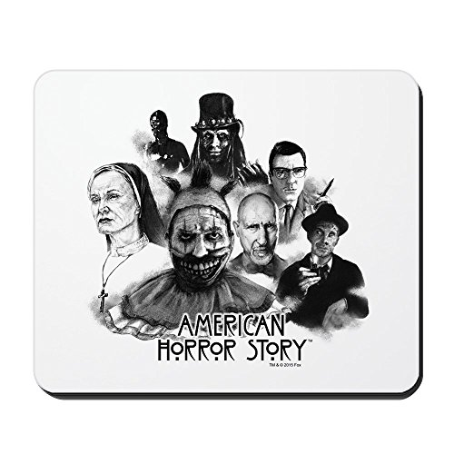 (Rutschfestes Cafe-Press-American-Horror-Story-Charaktere-Gaming-Gummi-Mousepad)