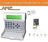 COMBINATORE TELEFONICO GSM PER ANTIFURTO ALLARME CELLULARE...