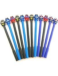 Cartoon Character Pens For Kids Batman Spider Man Captain America Ballpoint Set Super Soft Multipurpose School...