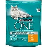 Purina One Bifensis Crocchette peri il Gatto Adulto, Ricco in Pollo e Cereali Integrali, 800 g