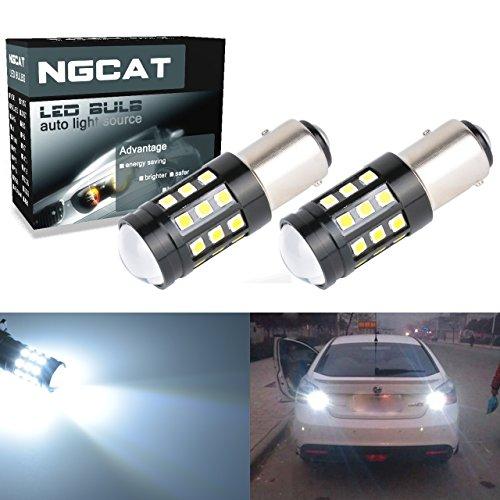 Preisvergleich Produktbild NGCAT Super Hell 2 2700 Lumen 3030 Glühlampe (27 1157 BAY15D 7528 1196 1016 1034 Objektiv LED Bremslicht Blinker Leuchtmittel Rücklicht 12 V-24 V 6000 K (weiß)