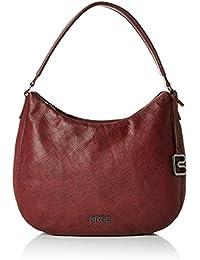 BREE Damen Couco 1, Brick Red Print, Hobo W16 Shopper, 36x24x12 cm