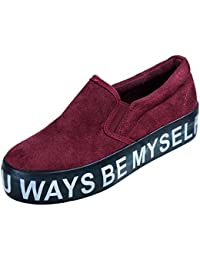 Toocool - Scarpe donna sneakers slip on mocassini camoscio suola 3 a55c7f4389f