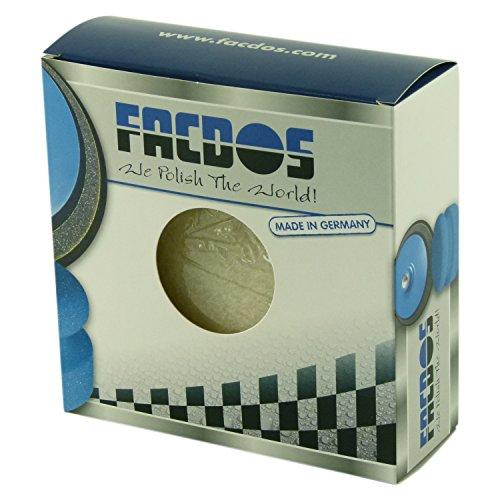 FACDOS L1 Polier-Fell Ø 133 mm 2 St. | Synthetisches Lammfell für beste Ergebnisse | Sowohl mit Autopolitur als auch mit Politurpaste anwendbar | Lambswool für alle gängigen Metalloberflächen geeignet