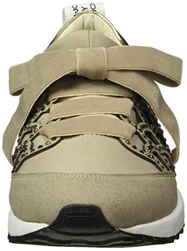 Liu Jo Damen Sneaker Aura Sneakers Grau (Tortora)