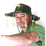 My Planet Chapeau australien de qualité avec 10bouchons en liège véritable pour enfant/adulte taille unique