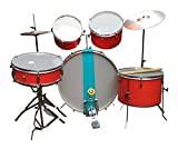 AMBITION Basic Drum Kit 7 Pcs (Red)