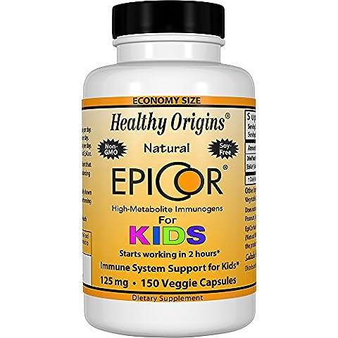 Healthy Origins, EpiCor pour enfants, 125 mg, 150 Capsules