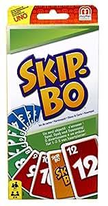 Mattel 52370-0 - Skip-Bo, Kartenspiel: Amazon.de: Spielzeug