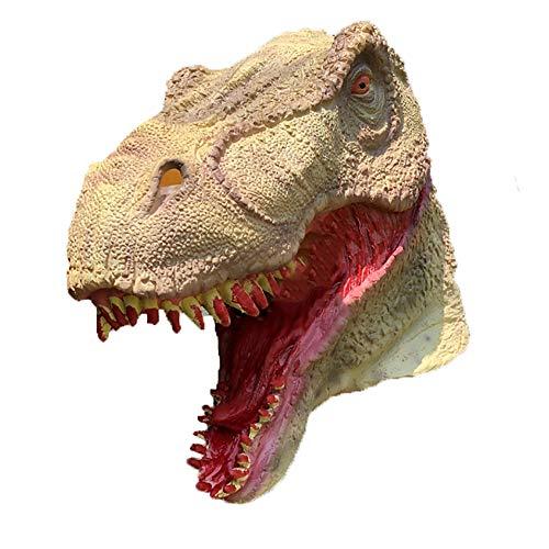 Dinosaurier Maske Kopfbedeckung Halloween Kostüm Party Supplies Party Erwachsene Performance Requisiten Latex Material (Dinosaurier-kostüm Diy Erwachsene Für)