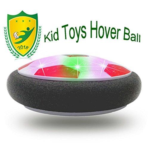 (JRD&BS WINL Kinder Spielzeug die Magisch Hover Ball mit Leistungs Starken LED-Licht für Familien Aktivität, 3-12 Jahre Altes Mädchen Übung Kinder Spielzeug(Rot 02))