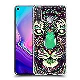 Head Case Designs Tiger Aztec Animal Faces 2 Soft Gel Case