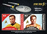 Antigua Star Trek – Capitaine Kirk, Mirror Mirror et Collection philatélique, Souvenir Sheet