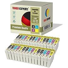 Pack de 30 XL TONER EXPERTE® Compatibles T1285 Cartuchos de Tinta para Epson Stylus S22, SX125, SX130, SX235W, SX420W, SX425W, SX435W, SX438W, SX445W, SX445WE, Office BX305F, BX305FW, BX305FW Plus, T1281, T1282, T1283, T1284
