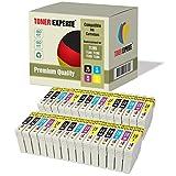 30 XL TONER EXPERTE® T1285 Druckerpatronen kompatibel für Epson Stylus S22 SX125 SX130 SX230 SX235W SX420W SX425W SX430W SX435W SX438W SX440W SX445W SX445WE Office BX305F BX305FW Plus