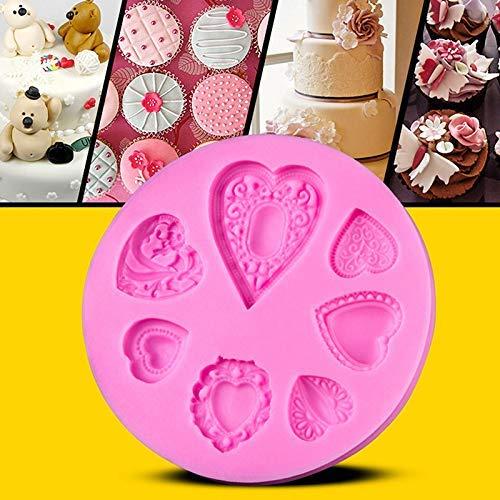 aking Formen Silikon Herz Form Kuchen Dekorieren Tool Schokolade Moulds Hintergrund Ausrüstung ()