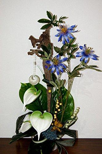 Clematis Kunstblumen künstliche Geschenk Blumen Büro Office Deko TD09