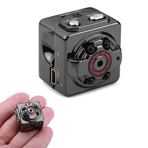 triclicks-1080P-Full-Hd-Mini-Cmara-12-Million-Pixeles-porttil-Ocultos-Cam-Vigilancia-con-visin-nocturna-y-deteccin-de-movimiento-para-Seguridad-PrincipaloficinaJardnGarajeIndoorOutdoor