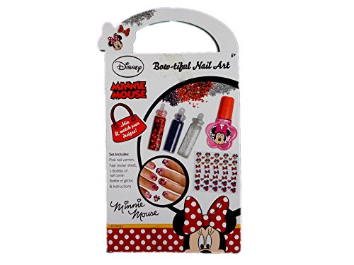 Disney Minnie Maus bow-tiful Nail Art Set - Minnie Bows