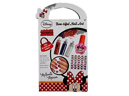 Disney Minnie Maus bow-tiful Nail Art Set