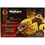 Walkers Assorted Chocolate Shortbread 220 g (Pack of 6)