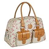 Lässig Vintage Metro Bag Wickeltasche/Babytasche inkl. Wickelunterlage Rosebud Fairytales