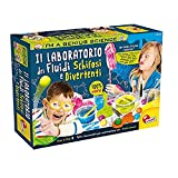 Liscianigiochi- I'm a Genius Science Gioco per Bambini Laboratorio dei Fluidi Schifosi e Divertenti, Multicolore, 78097