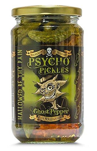 Psycho Juice - pepinillos en vinagre pimienta fantasma