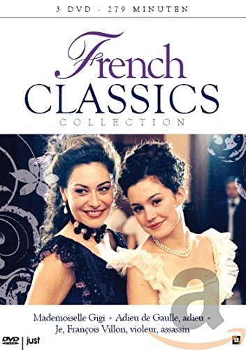 Cinéma Francaise Trilogie: MADEMOISELLE GIGI / ADIEU DE GAULLE, ADIEU / JE, FRANCOIS VILLON, VIOLEUR, ASSASSIN (3 DVD Box)