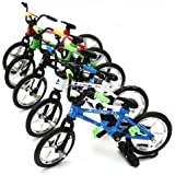 Fuctional Mini Finger Mountain Bike BMX Bicycle Cool Boy Toy Creative Game Gift (1) by Action