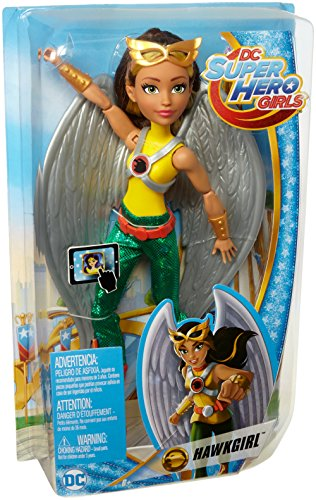 MATTEL FJH00DC Supereroe Ragazze Hawk Girl Doll