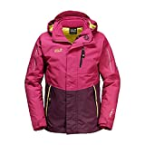Jack Wolfskin 3 in 1 Jackets Crosswind 3In1 Kids azalea red 164