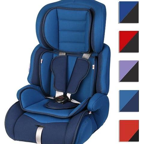 Infantastic® - KASTZ01 - Asiento de coche para niños - Asiento extensible - Diferentes colores a