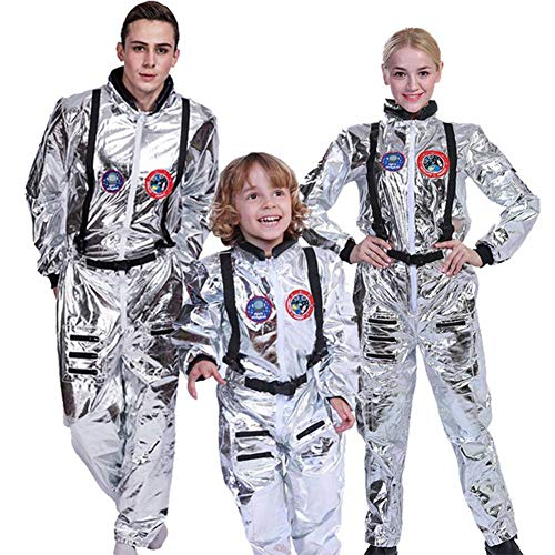 GUAN Raumanzug Collective Party Cosplay Astronauten Kostüm Halloween Spiel - Raumanzug Kostüm Material