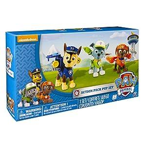 Nickelodeon, Paw Patrol - Action Pack Pups 3pk Figure Set Chase, Rocky, Zuma by Paw Patrol by Paw Patrol de Paw Patrol