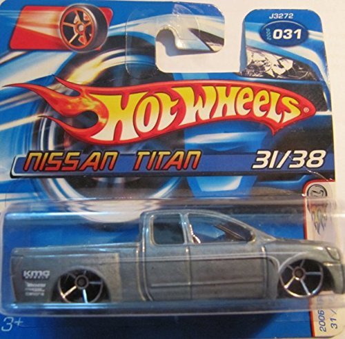 1to64-hot-wheels-2006-31-first-edition-nissan-titan-5-speichen-chrome-rader