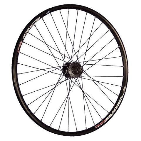 Taylor Wheels 26 Zoll Hinterrad Ryde Taurus Shimano FH-M475 Disc 6 Loch schwarz