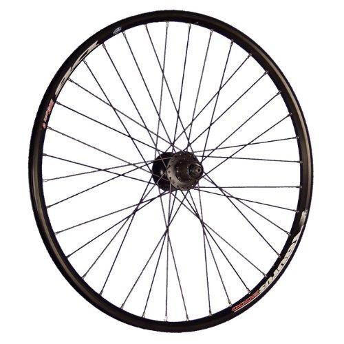 Taylor Wheels 26 pollici ruota posteriore bici mozzo usato  Spedito ovunque in Italia